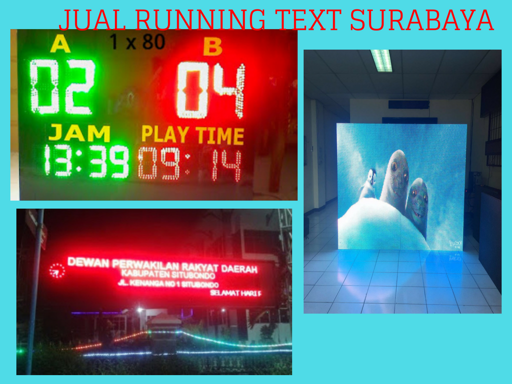 Pusat Running text Pasuruan