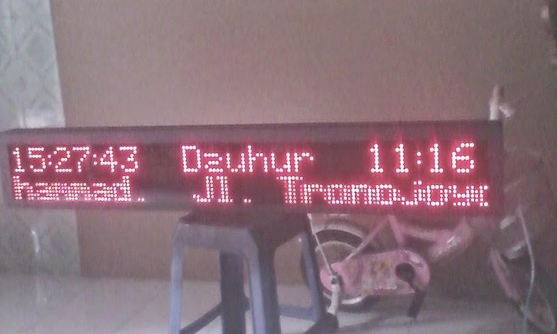 type 2 - 0813.5495.4655(Tsel)Jadwal sholat digital murah