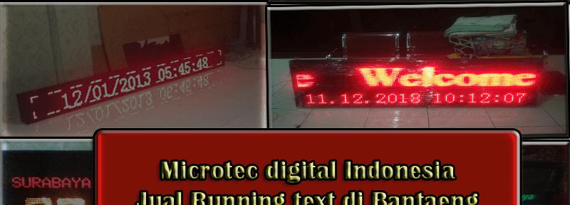 Jual Running text Bantaeng II Jadwal sholat 0813.5495.4655