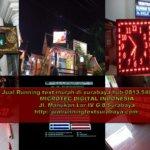 Jual Running text Gresik II Jadwal sholat 0813.5495.4655