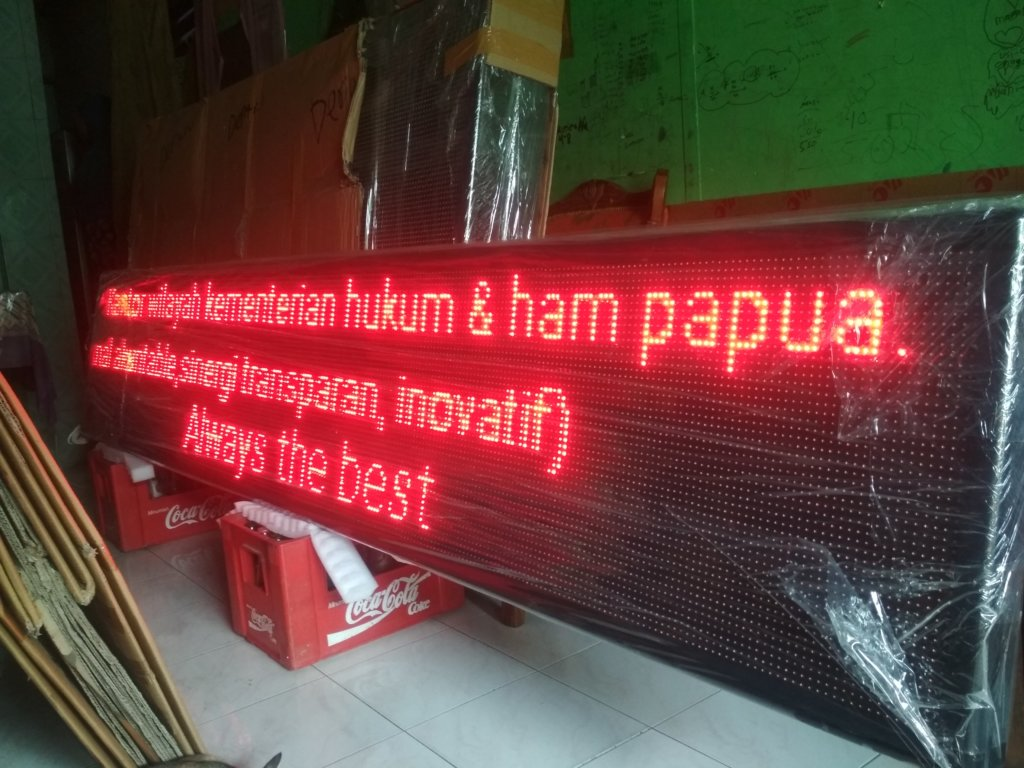 jual running text Bangkalan