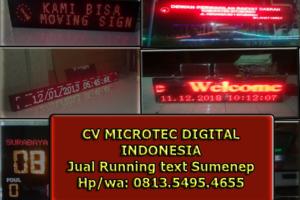 0813.5495.4655(TSEL)Jual running text sumenep