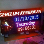 Jual running text Jakarta Timur