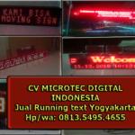 Jual Running text Yogyakarta hub 0813.5495.4655