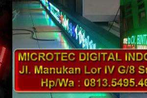 Jual Running text Jakarta Timur hub 0813.5495.4655