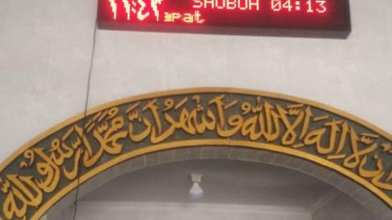 0813.5495.4655(Tsel)Jual jam sholat digital surabaya