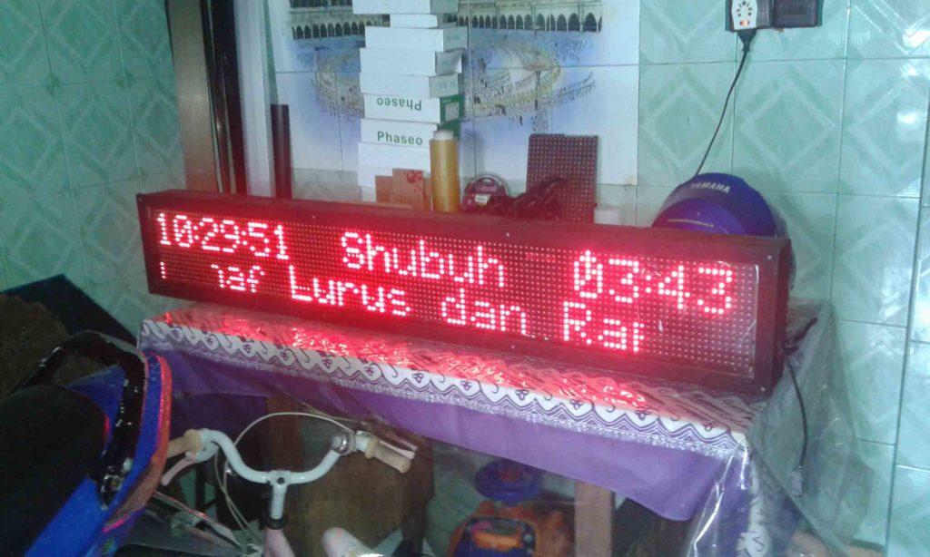 Jual jadwal sholat surabaya