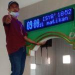 Jual jam sholat digital Sidoarjo hub : 0813.5495.4655